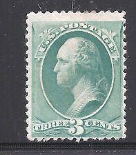 Scott #207, Single 1881 George Washington 3c FVF MH