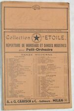 1922 FELICE CARENA AKABA INTERMEZZO ORIENTALE SPARTITI