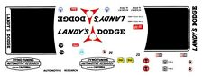 DICK LANDY DYNO TUNING AUTOMOTIVE RESEARCH DODGE 1/64th HO Scale Slot Car Decal