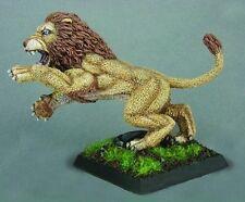 Celestial Lion Crusaders Monster Reaper Miniatures Warlord Beast Animal Melee