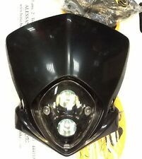 IN149 mascherina cupolino moto naked con fari incorporati da verniciare