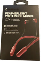 Skullcandy Ink'd+ Wireless Earbud Built-in Mic & Remote #:S2IQW-M685 -Deep Red
