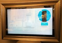 "SPRING SALE.MIRROR TV SAMSUNG 32"" M4500 SERIES SMART 720p HDTV SILVER/GOLD FRAME"