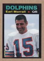 Earl Morrall '73 Miami Dolphins Monarch Corona Glory Days #36