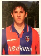 Cartolina Bologna Calcio 2001-02 Machado Claiton