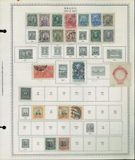1906-1968 Brazil Postage Stamp Variety Collection Catalogue Value