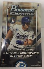 2015 Bowman Chrome Baseball Hobby Box Factory Sealed Bellinger, Bryant RC?