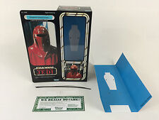 "custom vintage Star wars rotj 12"" the emperors royal guard box + inserts"
