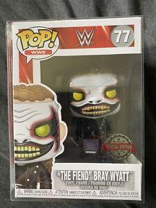 Funko Pop The Fiend Bray Wyatt WWE 77 vinyl figure Special Edition Rare Ship 🌍!