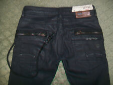 GSTAR 3301 COATED PLUS SUDDEN STRAIGHT JEANS SIZE 24