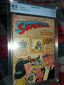 SUPERMAN 97 CBCS 4.5 1955