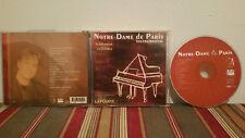 Notre-Dame de paris instrumental Music cd disc-case& insert
