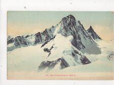 Die Finsteraarhorn [425] Switzerland Vintage Postcard 329b