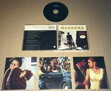 MADONNA Another Suitcase in Another Hall w/ 3 BONUS FILM POSTCARDS CD single