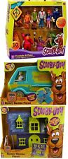 scooby doo mystery mansion machine (van) 10 pk figures fred shaggy velma daphne
