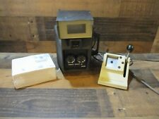 Simul-shot passport camera 2 with passport books and photo cutter untested nr