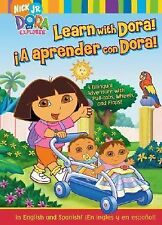 Learn with Dora!/A aprender con Dora!: A Bilingual Adventure with Pull-