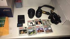 Nikon D3200 24.2MP Digital SLR Camera - Black W Filters 18-55 And 55-200mm Lens