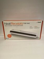 Neat Receipts NM-1000 Mobile Scanner & Digital Filing System MAC W/Dust Bag Case