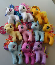 "Set of 5 My Little Pony Friendship is Magic 5"" Plush G4 NWT PICKED AT RANDOM"
