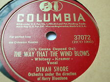 78 trs-rpm-DINAH SHORE- You keep coming back... COLUMBIA 37072