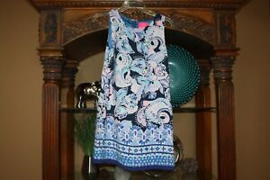Lilly Pulitzer Womens Size 4  Donna Romper Holy Flockamolie High Tide