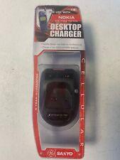 SANYO Desktop Phone Charger For Nokia 5100,6100,7100 Series NEW 41064 NIP