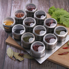 Seasoning Bottle Box Jar Condiment Storage Container Rack Herb Spice Jar