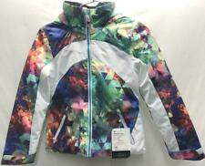 Obermeyer Junior Girl's Tabor Print Snow Ski Winter Jacket S Fractal Floral NEW
