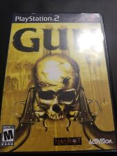 """""""Gun"""" PlayStation 2 PS2 Game CIB Complete w/ Manual & Case, Tested works great!"""