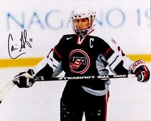 9 1998 Team USA women's hockey Gold Medal Team signed 8x10 photos Cammi Granato