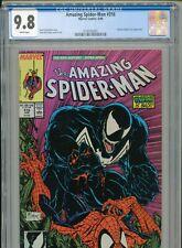 1989 MARVEL AMAZING SPIDER-MAN #316 TODD McFARLANE VENOM CGC 9.8 WHITE