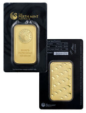Perth Mint 100 Gram .9999 Fine Gold Bar -New Sealed w/Assay Certificate SKU30316