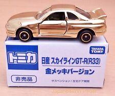 RARE JAPAN TOMICA NISSAN SKYLINE GT-R R33 TOMY TAKARA GOLD