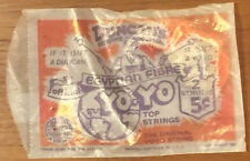 Vintage NOS 1937 Original Duncan Yo-Yo Strings NIP Egyptian Fibre 2 For 5 Cents