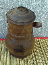 Ancien objet  en bois saliere art populaire, french antique