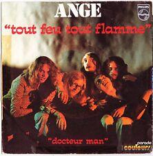 ANGE Docteur man Tout feu tout flamme 1971 Heavy French Pop Christian Decamps