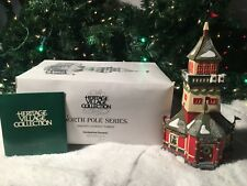 NEW DEPARTMENT 56 NORTH POLE SERIES SANTAS LOOKOUT TOWER #56294