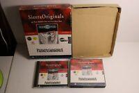French Francais Phantasmagoria Vintage PC game sierra 7 discs win 3.1 95 dos