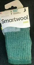 FIRST QUALITY Smartwool Womens Hike Hiking Merino Wool Socks SMALL Green $19.95
