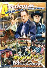 Los Bravos Del Rodeo - El Rey Del Rodeo / Bellas En La Bestia De Metal -DVD NEW