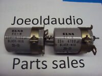 "Harman Kardon 630 Capacitors 35V 4700UF. 2 1/4"" Tall. 1 Pair. Parting Out 630."