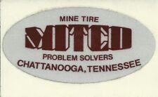 Mitco Mine Tire Problem Solvers Tn Vintage Unused Mining Hard Hat Decal Sticker