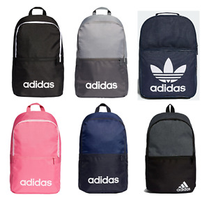 Adidas Mens Unisex Backpack Rucksack Bag Sportswear Gym Travel School Trip Case
