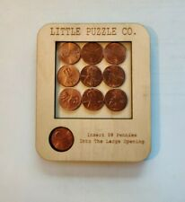 10 Penny Puzzle - Little Puzzle Co. FREE SAME DAY SHIPPING!!!