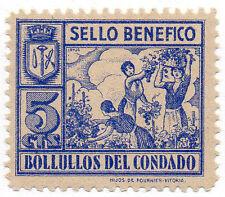 Sello Local Guerra Civil Bollullos del Condado -Cat. Galvez B96.  ORD:1365