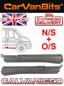 FORD TRANSIT MK6 MK7 00-13 FRONT DOOR STEP REPAIR SILL BODY PANEL OUTER PAIR
