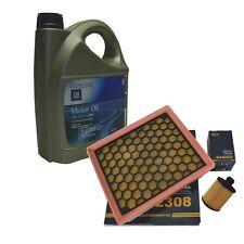 5 Liter 5W30 GM Motoröl Luftfilter Ölfilter Opel Insignia 2.0 CDTI 110-195 PS