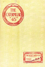 The Caterpillar 45 by Holt Mfg Co. - 1915 sales catalog - reprint