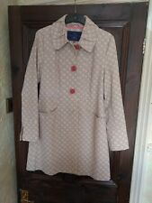 Ness UK 10 Beige cotton Coat  new with tags